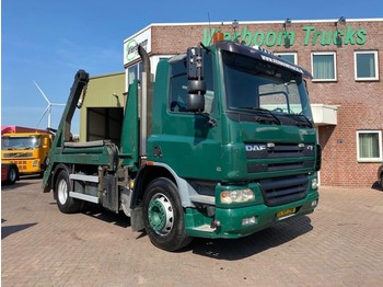 DAF CF75-310 4X2 HYVALIFT PORTAAL MANUAL EURO 3 FULL STEEL SUSPENSION - caminhão multibenne