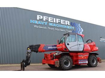 Manitou MRT2550 PRIVILEGE PLUS Valid inspection, *Guarante  - empilhador telescópico