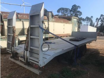 DON BUR /Low loader machinery transport/ - semi-reboque baixa