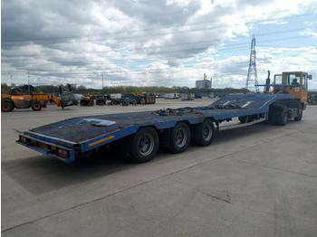 McGrath Tri Axle Step Frame Low Loader Trailer - semi-reboque baixa