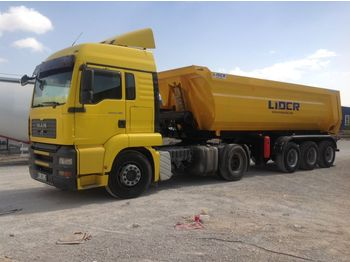 Semi-reboque basculante LIDER 2020 NEW DIRECTLY FROM MANUFACTURER COMPANY AVAILABLE IN STOCK
