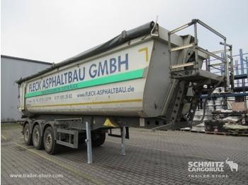 Semi-reboque basculante SCHMITZ Auflieger Kipper Stahlrundmulde 36m³