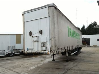 FRUEHAUF full steel frame tri axle 34 ton with lifting roof - semireboque toldo