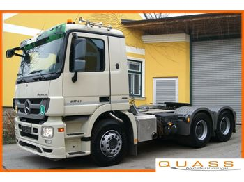 Mercedes-Benz ACTROS 2841 LS 6x4 / EURO 5 / MP3 /Kipphydraulik  - tractor