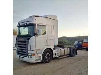 SCANIA R 420 left hand drive manual RETARDER - tractor